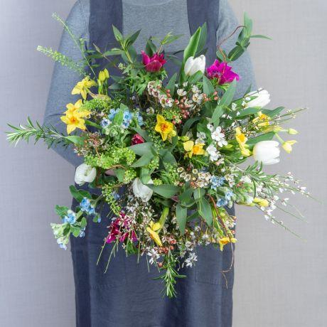 Garden Romance Valentines Bouquet