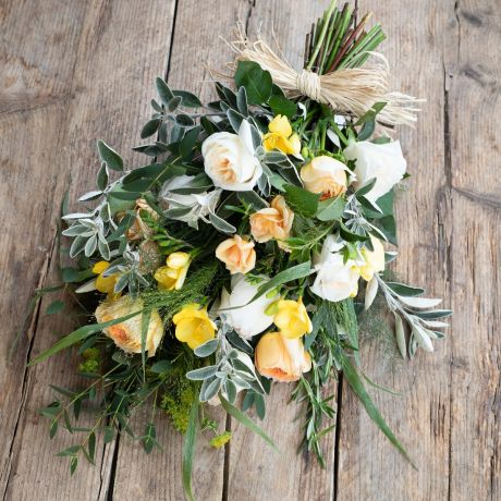 Golden Tied Funeral Sheaf