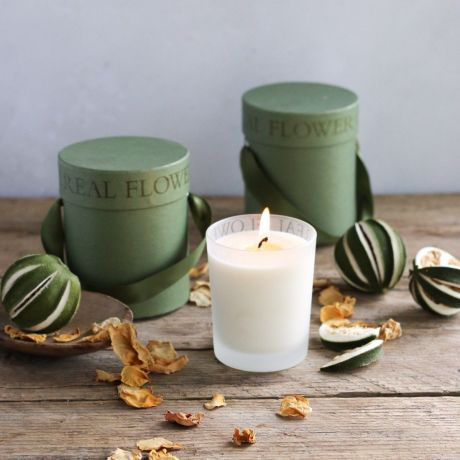 Green Tea & Lime Scented Candle