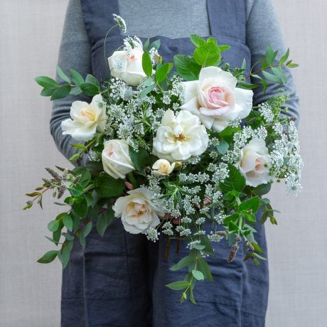 Summer Ivory Seasonal Posy