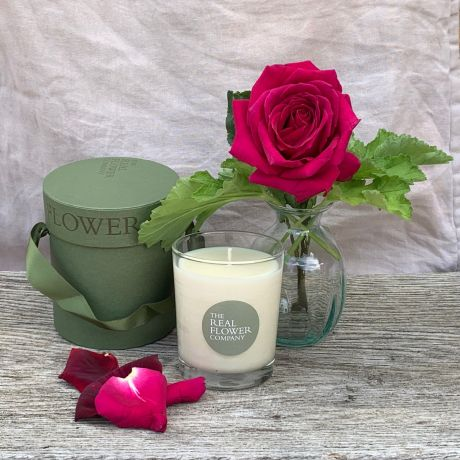 Luxury Scented Candle Rose