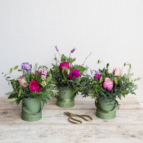 Mothers Day Woodland Hat Box Trio