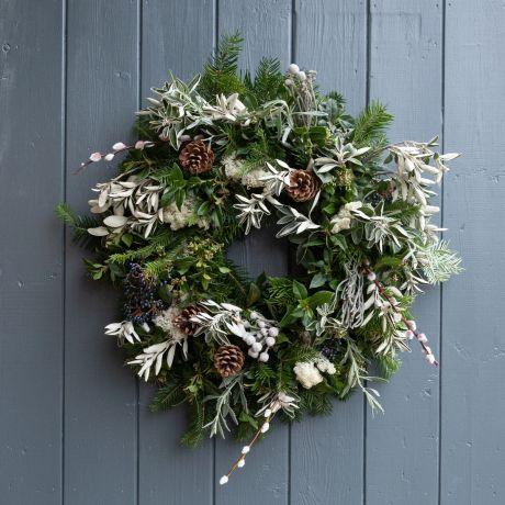 Nordic Foliage Eco-Friendly Wreath