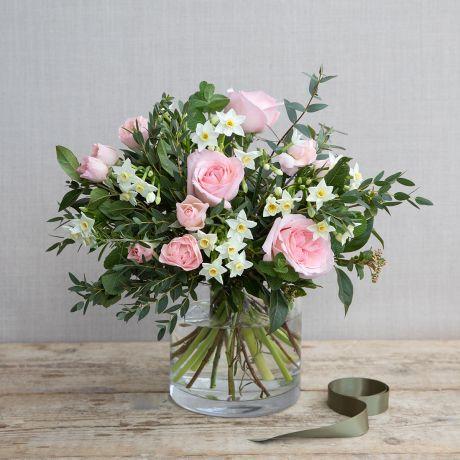 Pastel Pink Spring Posy