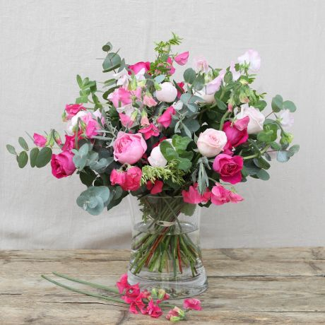 Prettiest Pink Sweet Pea Bouquet