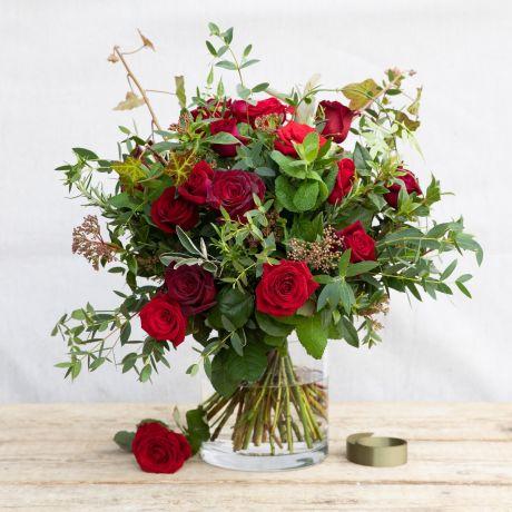 romantic rose & herb Bouquet