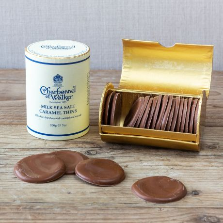 salted caramel chocolate thins