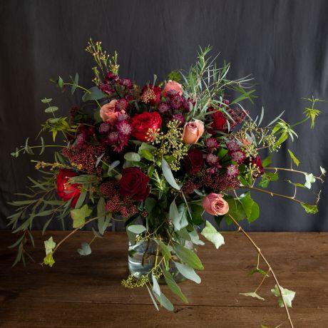 same day london winter grace bouquet