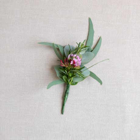 Seasonal Mixed Pink Buttonhole