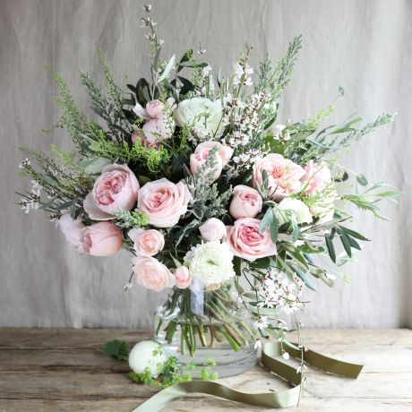 Seasonal Pastel Pink Bouquet