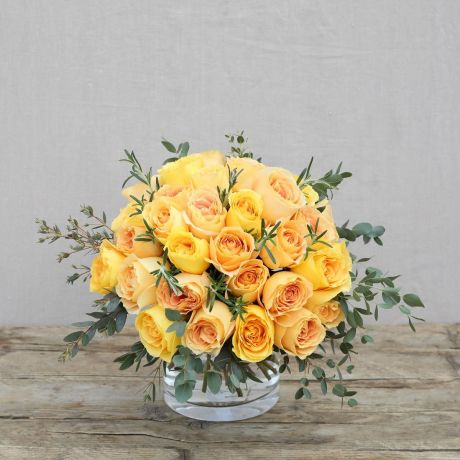 yellow pick of the day bouquet