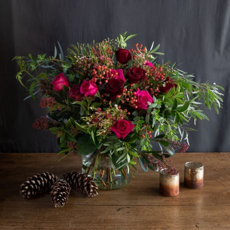 Wild Berries and Crimson Bouquet