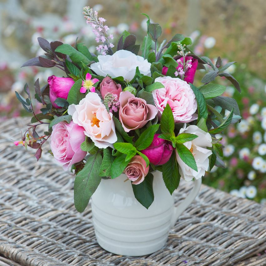 Antique Pink Summer Posy
