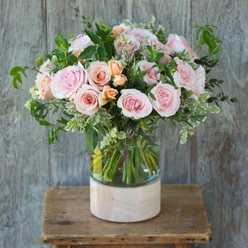 Blush Pink Winter Bouquet