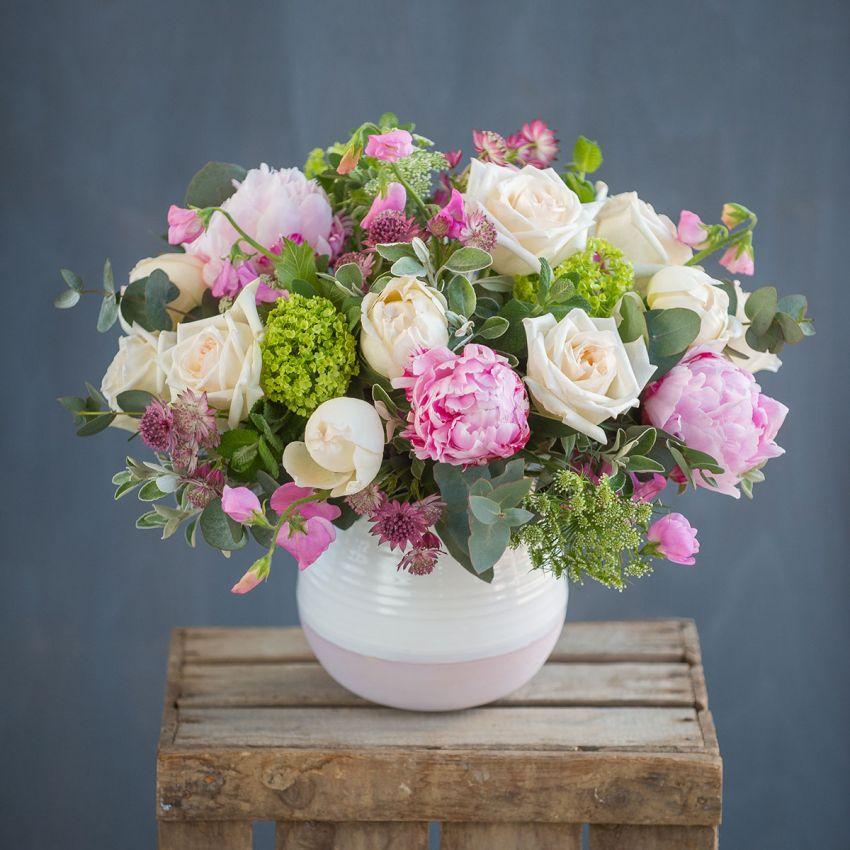 Chelsea Pastel Pink Peony & Rose