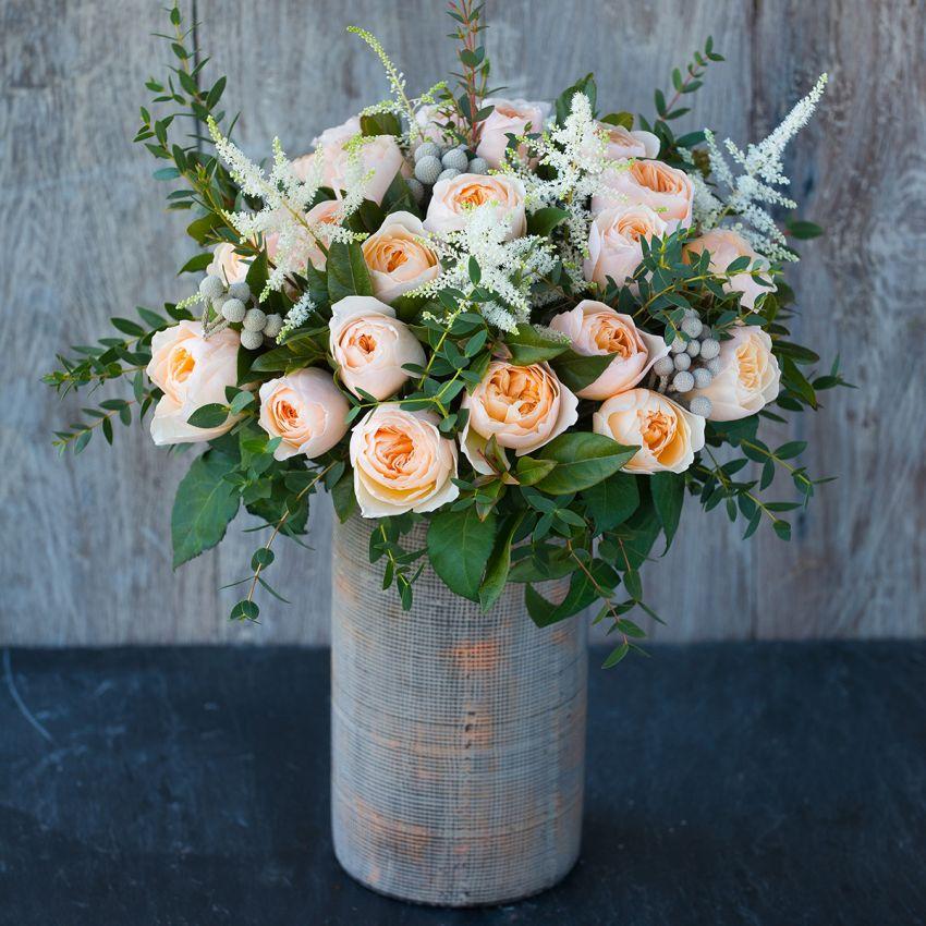 David Austin Juliet Bouquet