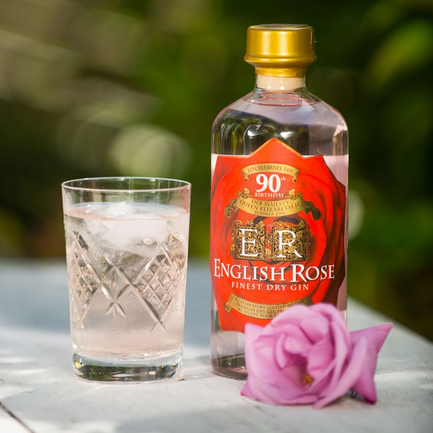 English Rose Finest Dry Gin