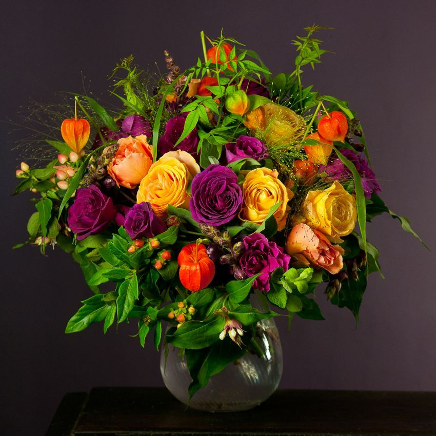 Indian Summer Bouquet | The Real Flower Company