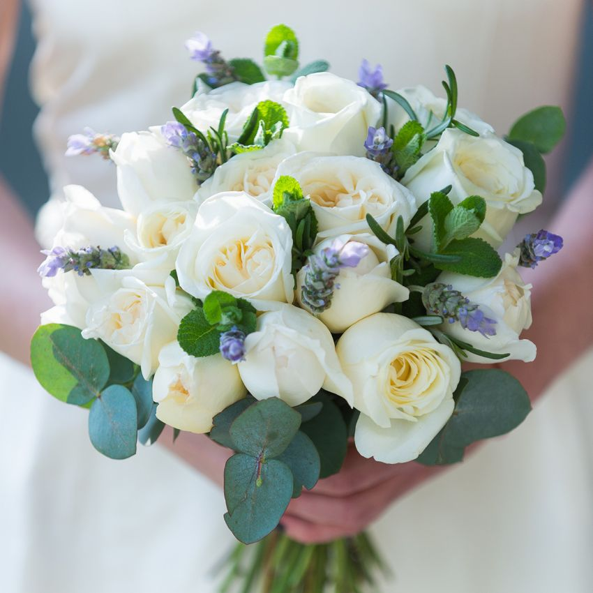 Ivory Bridal Bouquet