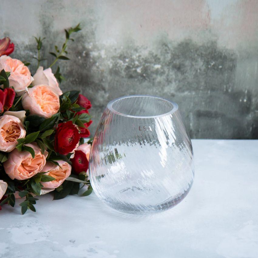 LSA Textured Flower Vase