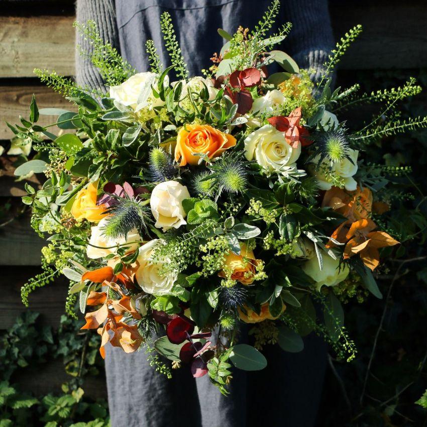 Meg's Copper & Cream Bouquet