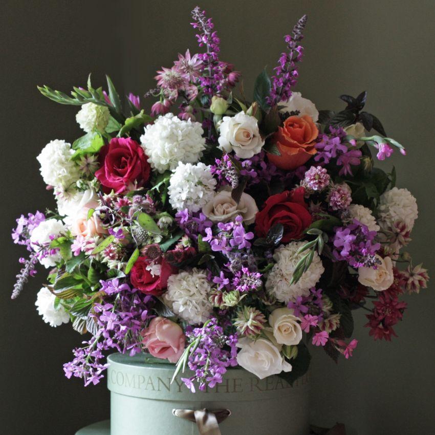 Mixed English Rose Celebration Bouquet