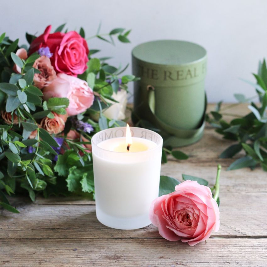 Morroccan Rose Scented Candle