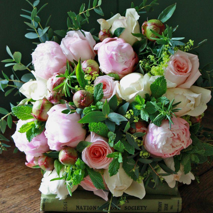 Chelsea Pink Peony & Rose