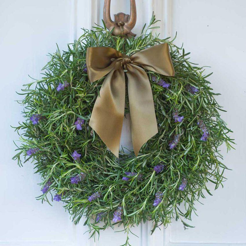 Rosemary & Lavender Door Wreath