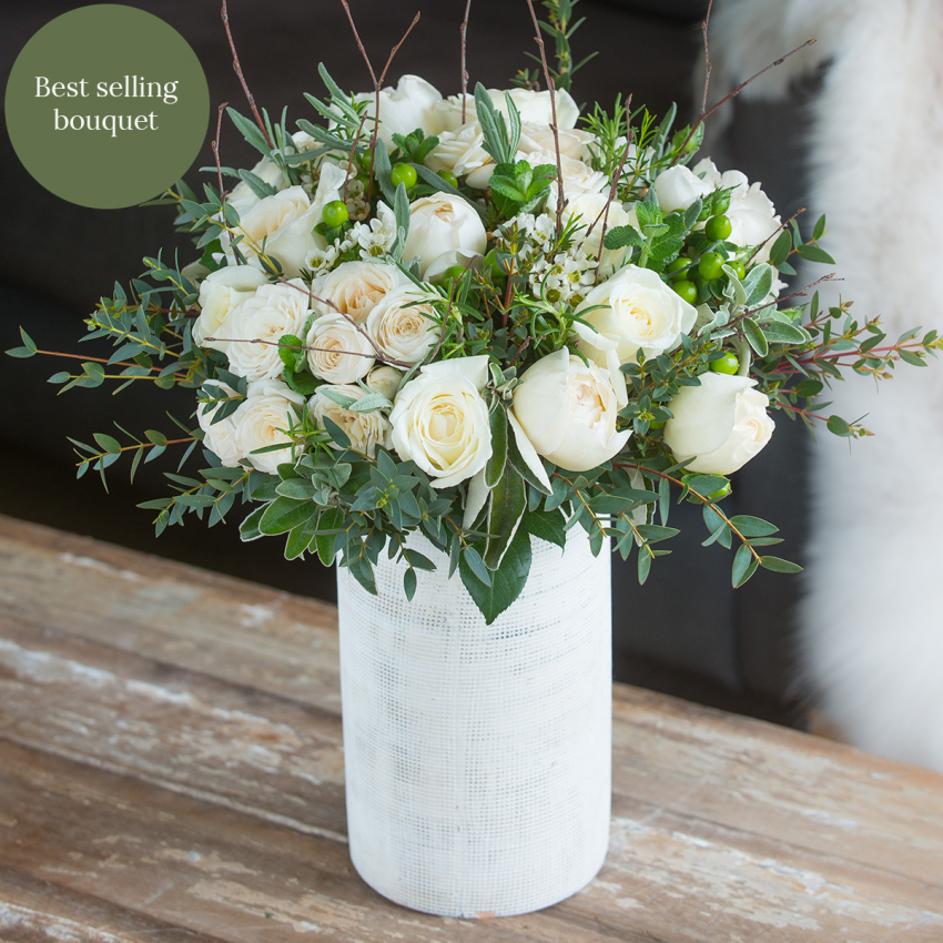 Ivory Winter Bouquet