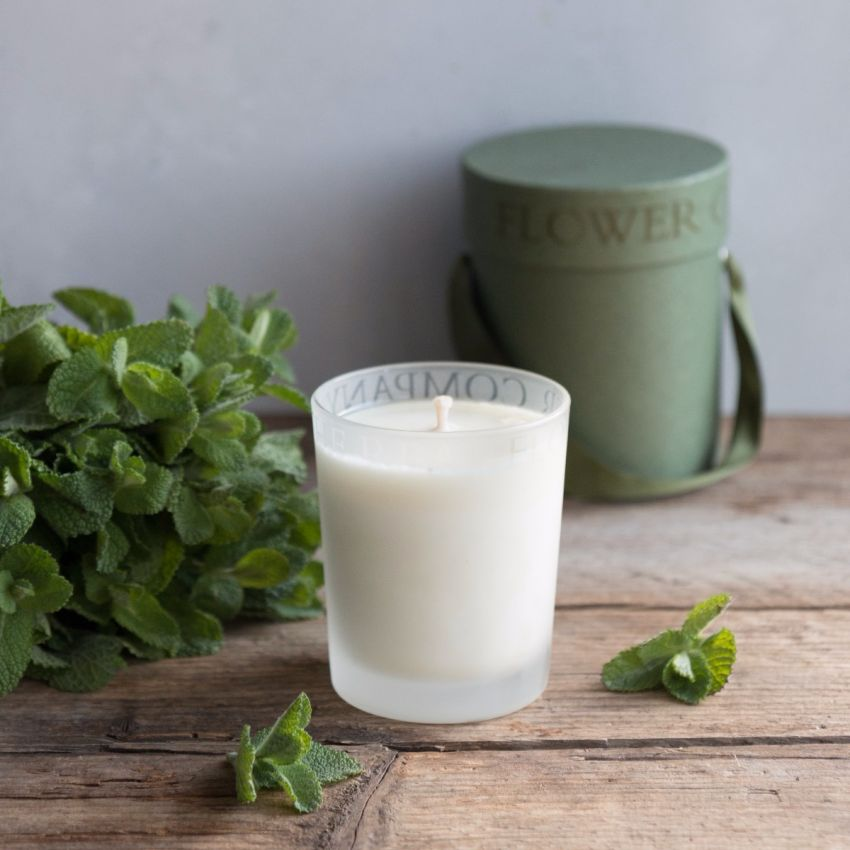 Wild English Mint Scented Candle
