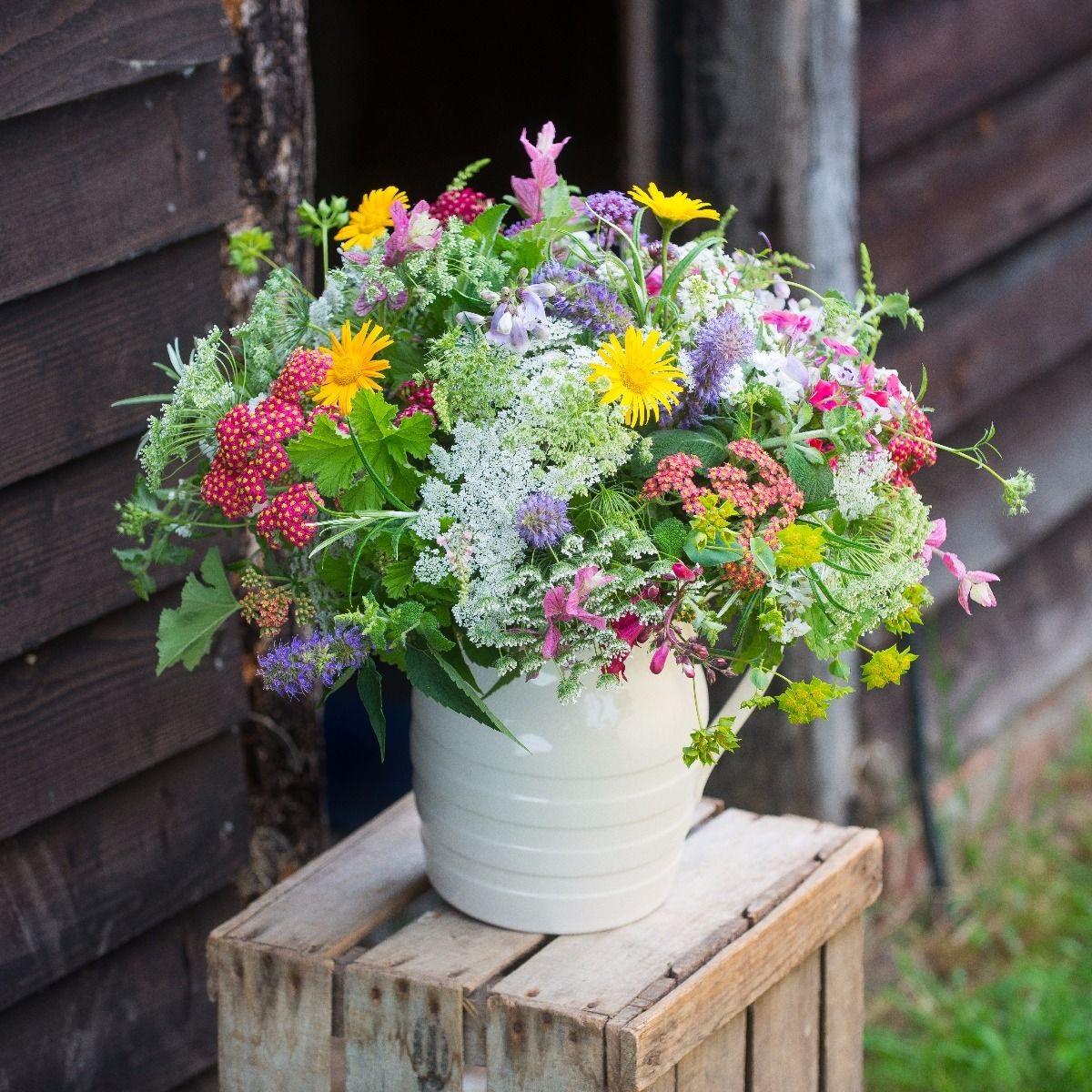 Wild flower meadow bunch the real flower company wild flower meadow bunch izmirmasajfo