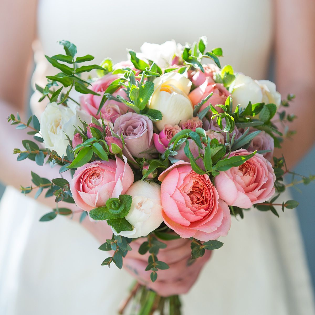 Romantic Antique Bridal Bouquet | Wedding Flowers | The Real Flower ...
