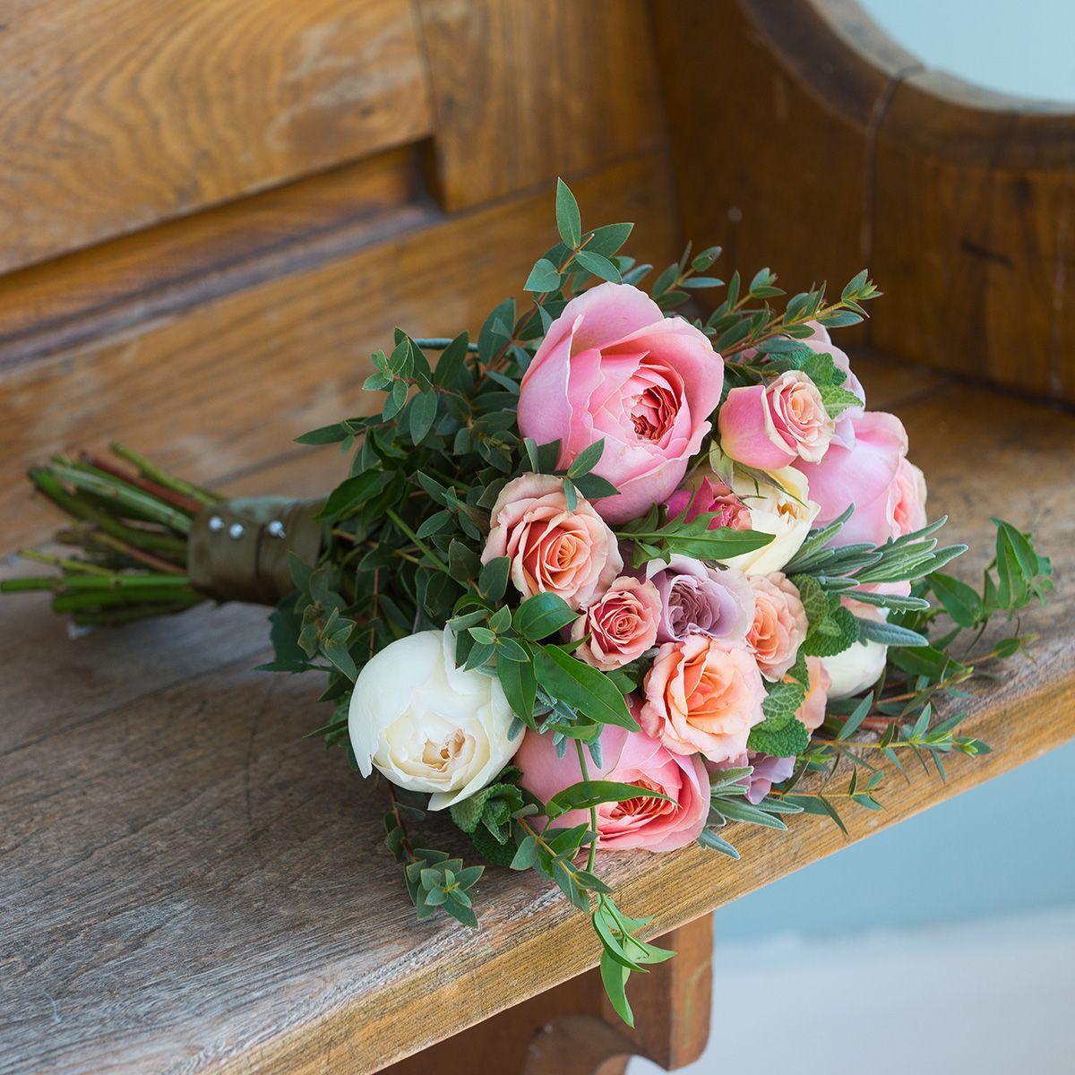 Romantic antique bridesmaid bouquet romantic antique bridesmaid flower girl bouquet izmirmasajfo