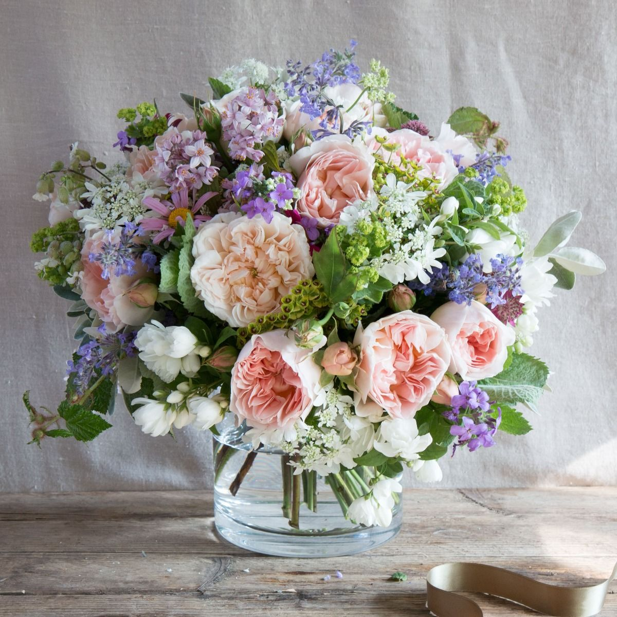 Evelyn & Wildflower | English Flowers | The Real Flower Company
