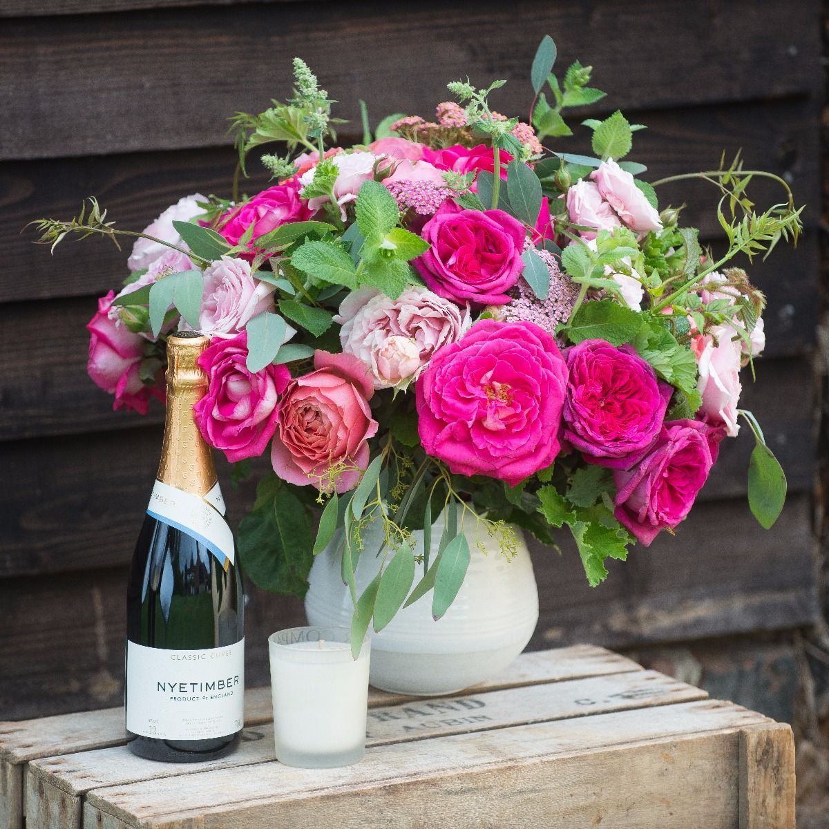 Florist Choice Bouquet | Scented Rose Bouquets | The Real Flower Company