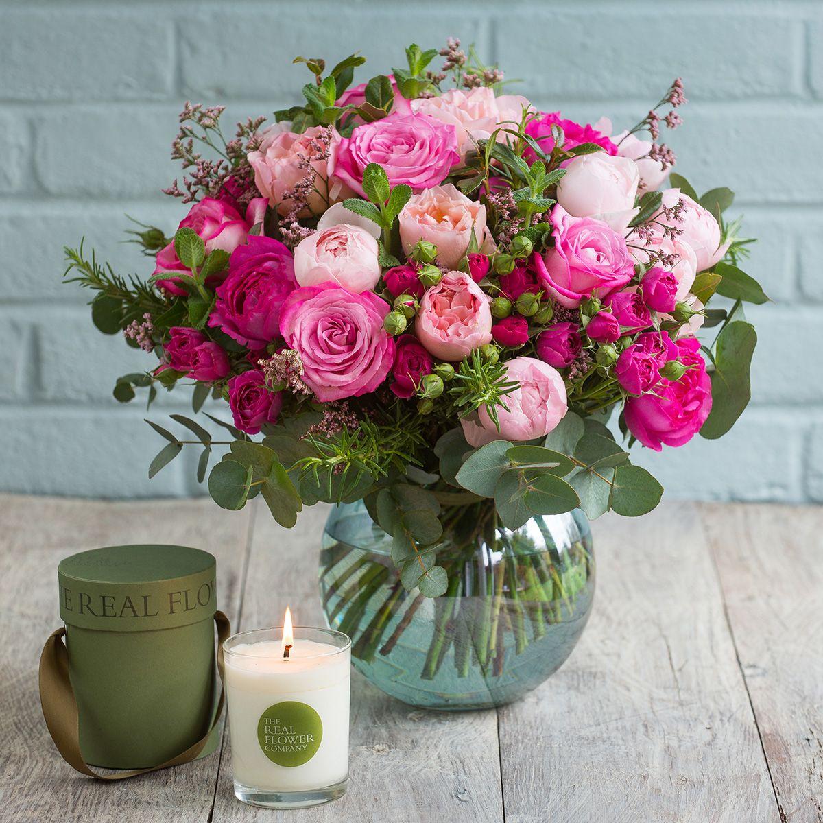 Mixed Pink Winter Bouquet