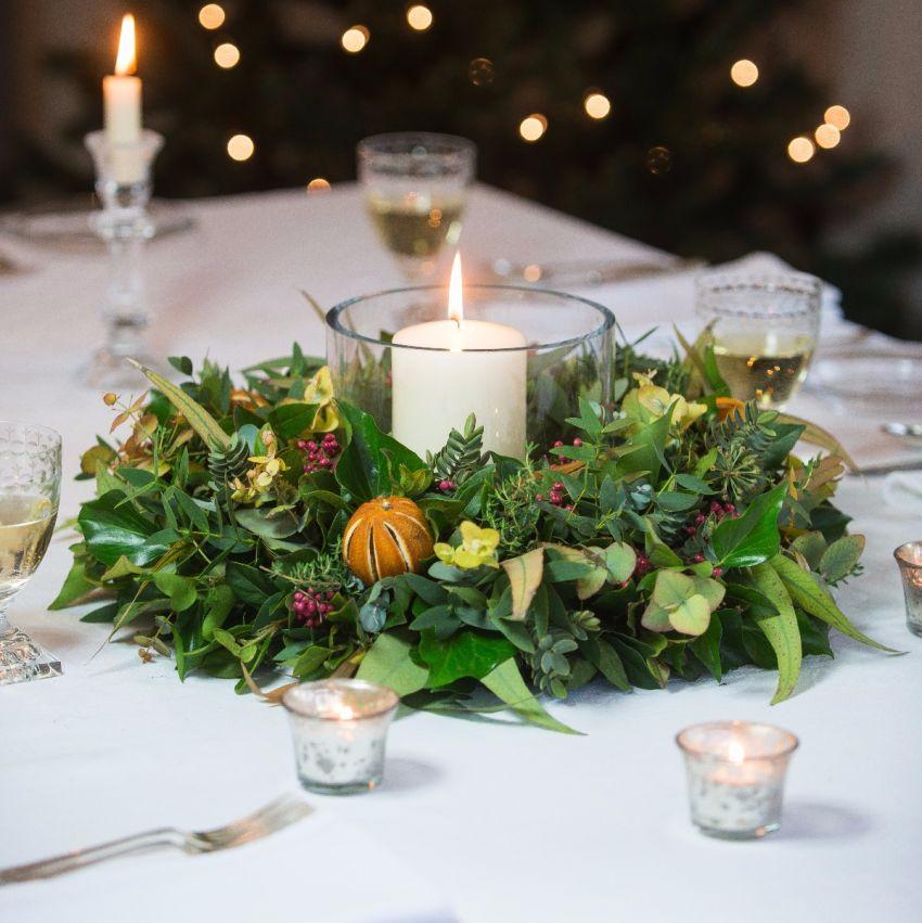 Citrus & Spice Table Wreath