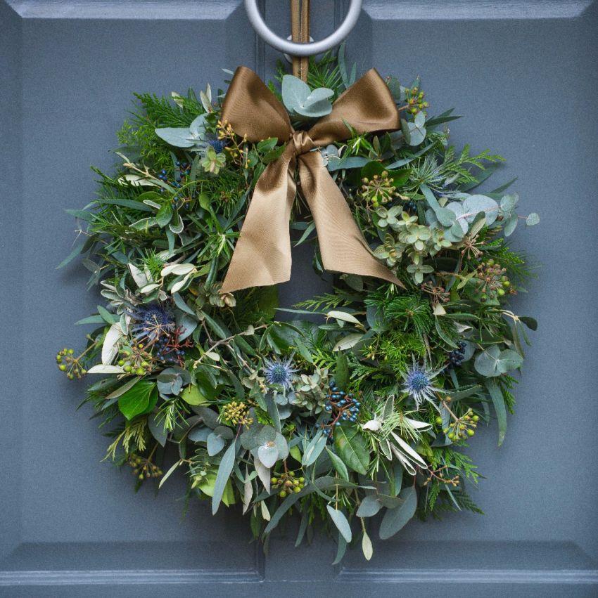 Thistle & Berry Door Wreath