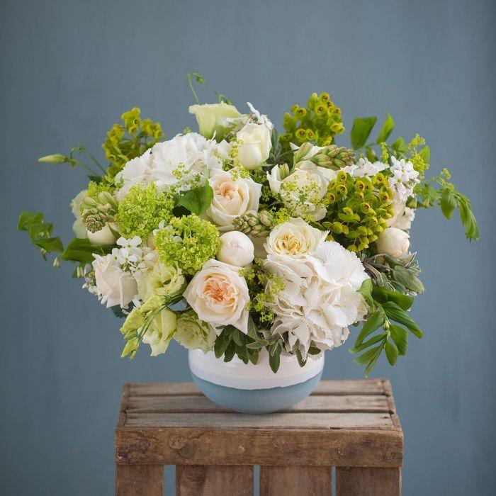 Chelsea Green White Bouquet