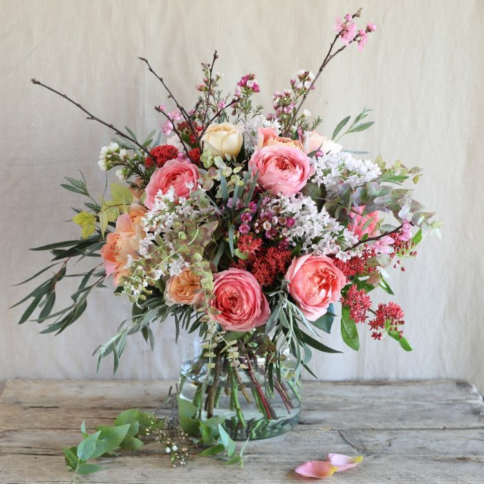 Coral Blush Bouquet Same Day London Flower Delivery The