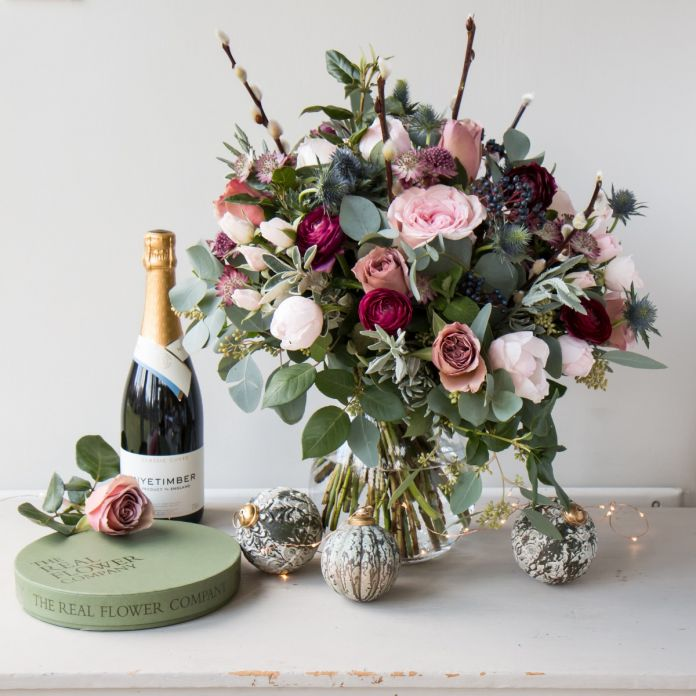 Woodland Antique Christmas Bouquet