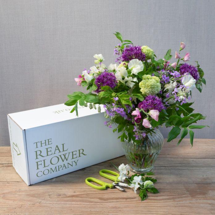 fresh from the farm english flower box