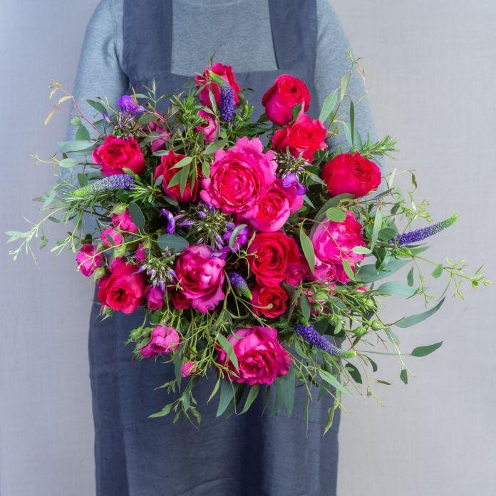 Pink Passion Valentines Bouquet
