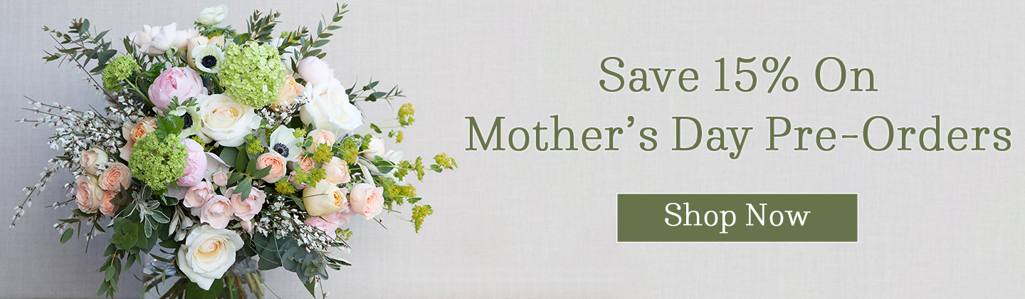 mothers day flowers 15% off