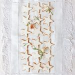 Spiced Rosewater Christmas Biscuits