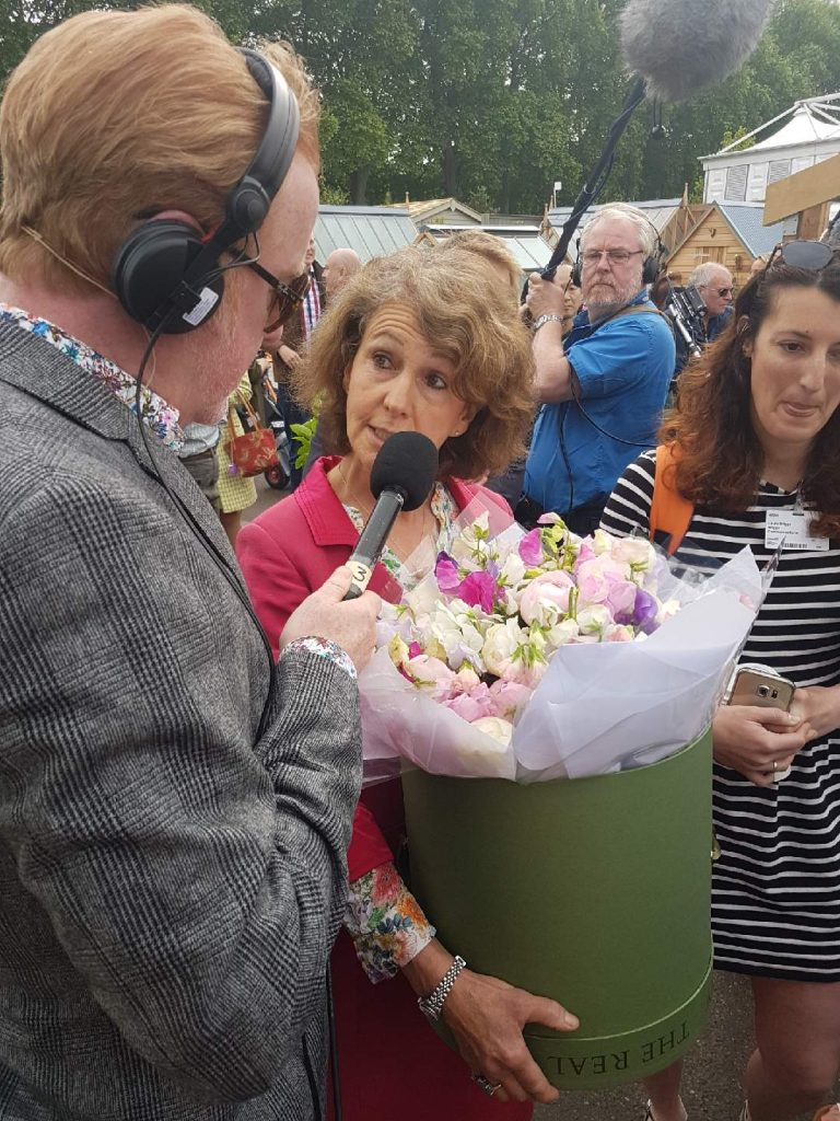 Real Flowers on the Radio