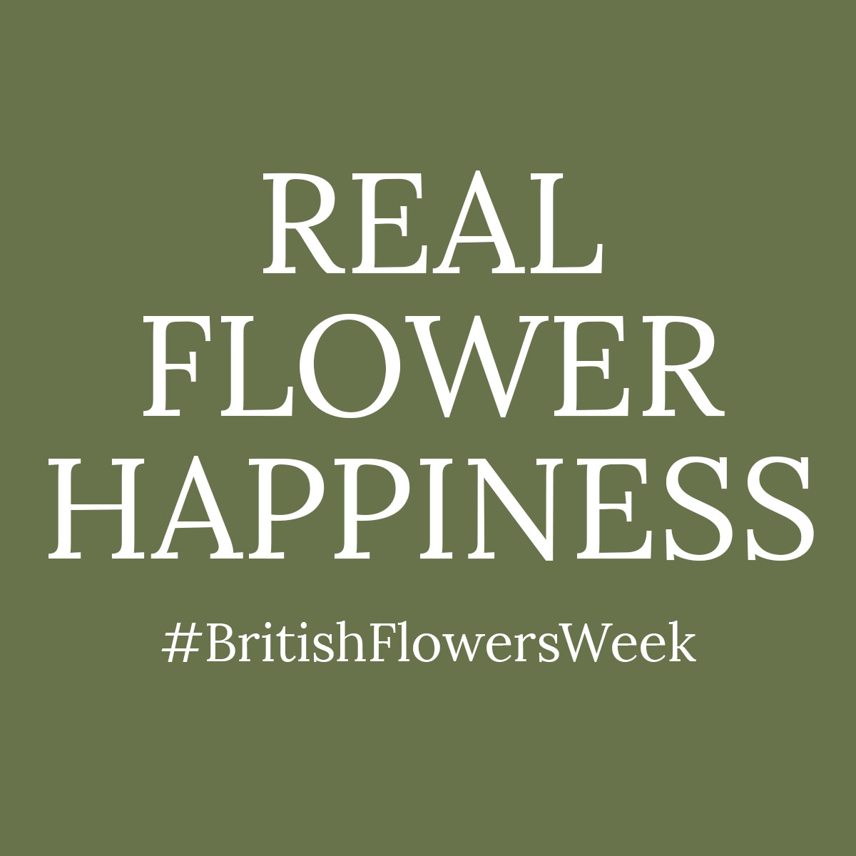 Why flowers make people happy | British Flowers Week