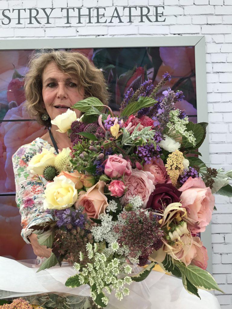 hampton court flower show rosebie