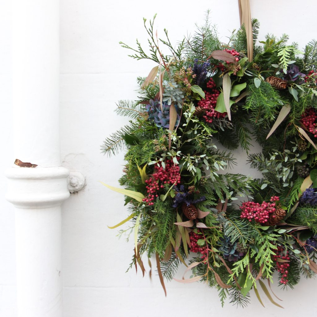 Learn how to make a sensational christmas wreath the